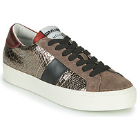 Shoes Women Low top trainers Meline PL1810 Bronze / Red