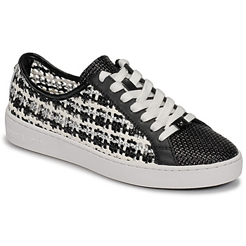 Shoes Women Low top trainers MICHAEL Michael Kors OLIVIA LACE UP Black / White
