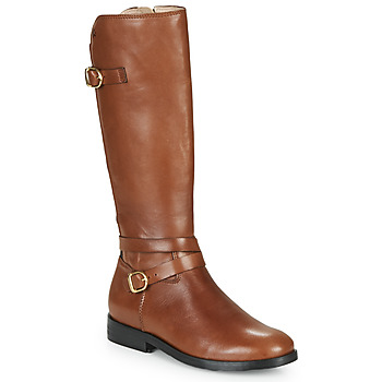Shoes Girl Boots Acebo's 9863-CUERO-T Brown