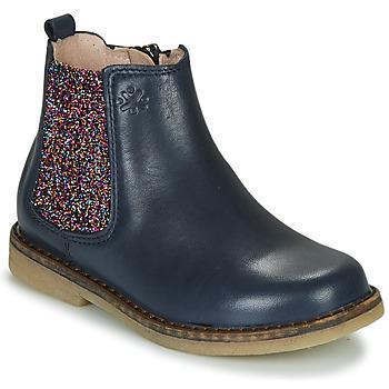 Shoes Girl Mid boots Acebo's 5274-MARINO-J Marine