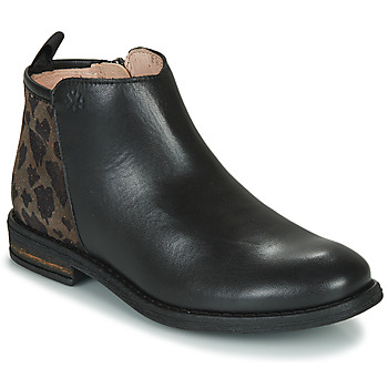 Shoes Girl Mid boots Acebo's 8035SK-NEGRO-T Black