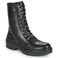 Shoes Girl Mid boots Bullboxer AON523E6L-BKGY Black