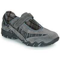 Shoes Women Sports sandals Allrounder by Mephisto NIRO Grey