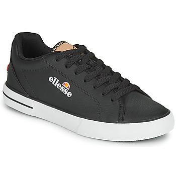 Shoes Women Low top trainers Ellesse TAGGIA LTHR Black
