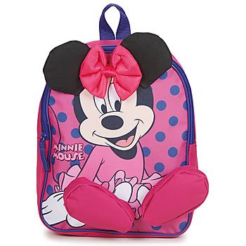 Bags Girl Rucksacks Disney BACKPACK MINNIE Pink