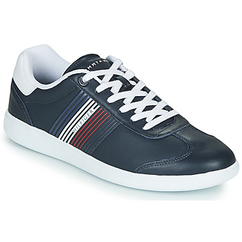 Shoes Men Low top trainers Tommy Hilfiger ESSENTIAL CORPORATE CUPSOLE Blue / White / Red