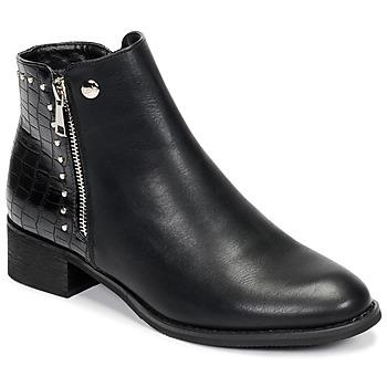 Shoes Women Mid boots Les Petites Bombes ALINE Black