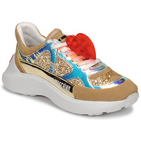 Shoes Women Low top trainers Love Moschino JA15196G1B Beige
