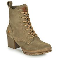 Shoes Women Ankle boots Art CAMDEN Kaki