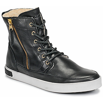 Shoes Women High top trainers Blackstone  Black