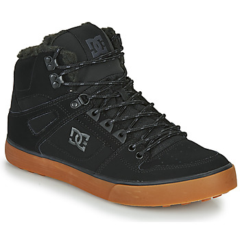 Shoes Men High top trainers DC Shoes PURE HT WC WNT M Black