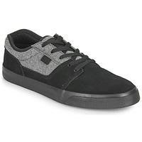 Shoes Men Low top trainers DC Shoes TONIK SE Black / Grey