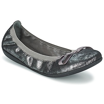 Shoes Women Ballerinas Les P'tites Bombes ELLA METAL Silver