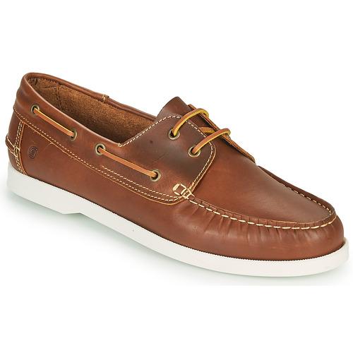 Boat shoes Casual Attitude REVORO Brown 350x350