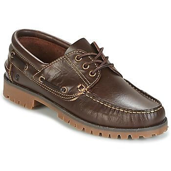 Shoes Men Boat shoes Casual Attitude EVEROA Brown