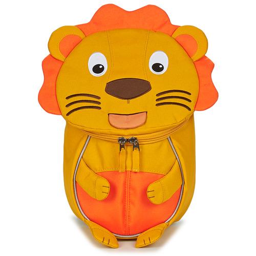 Bags Children Rucksacks Affenzahn LENA LION Orange