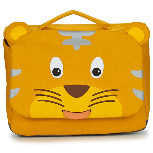Bags Children Satchels Affenzahn TIMMY TIGER Yellow