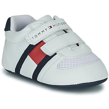 Shoes Children Low top trainers Tommy Hilfiger T0B4-30191 White