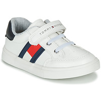 Shoes Boy Low top trainers Tommy Hilfiger  White