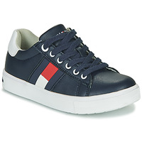 Shoes Boy Low top trainers Tommy Hilfiger  Black