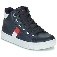 Shoes Boy High top trainers Tommy Hilfiger  Black