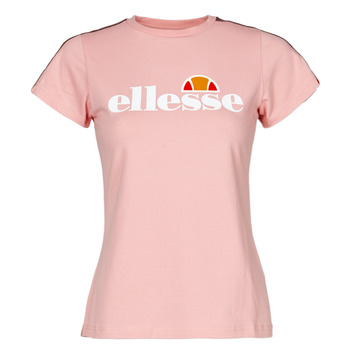 material Women short-sleeved t-shirts Ellesse MALIS Pink