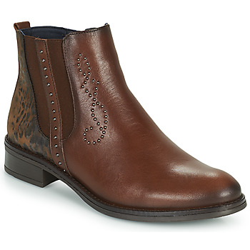 Shoes Women Mid boots Dorking TIERRA Brown