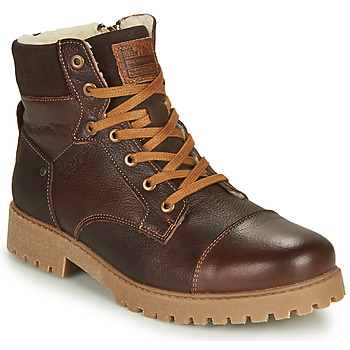 Shoes Boy Mid boots Bullboxer ALL518E6LA-BRWN Brown
