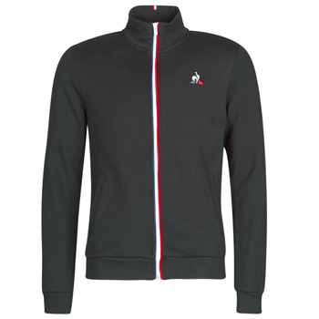 material Men Jackets Le Coq Sportif ESS FZ SWEAT N°2 M Black