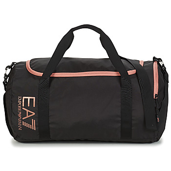 Bags Women Sports bags Emporio Armani EA7 TRAIN CORE U GYM BAG SMALL Black / Pink