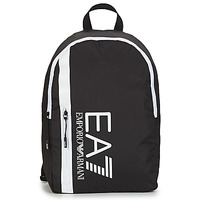 Bags Men Rucksacks Emporio Armani EA7 TRAIN CORE U BACKPACK B Black / White