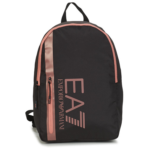 Bags Men Rucksacks Emporio Armani EA7 TRAIN CORE U BACKPACK B Black / Pink