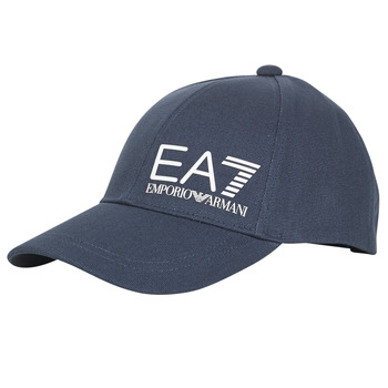 Accessorie Men Caps Emporio Armani EA7 TRAIN CORE ID M LOGO CAP Marine