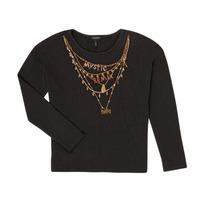 material Girl Long sleeved shirts Ikks XR10122 Black