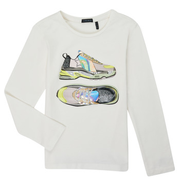 material Girl Long sleeved shirts Ikks XR10172 White