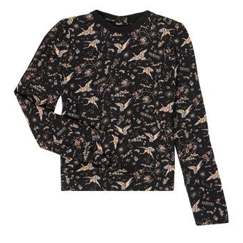 material Girl Long sleeved shirts Ikks XR12052 Black