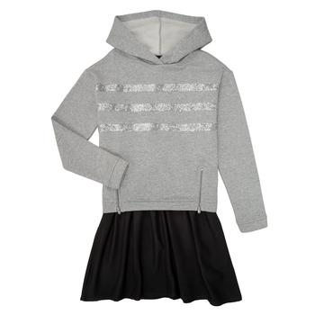 material Girl Short Dresses Ikks XR30112 Grey