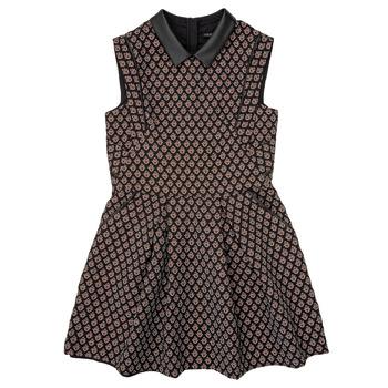 material Girl Short Dresses Ikks XR30212 Black