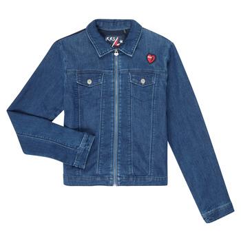 material Girl Denim jackets Ikks XR40052 Blue