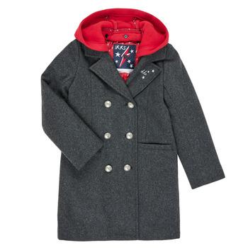 material Girl coats Ikks XR44012 Grey
