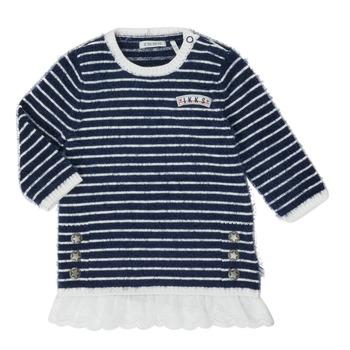 material Girl Short Dresses Ikks XR30030 White
