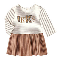 material Girl Short Dresses Ikks XR30070 Beige