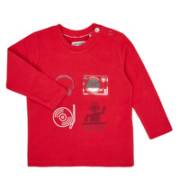material Boy Long sleeved shirts Ikks XR10011 Red
