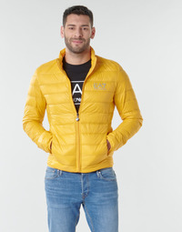 material Men Duffel coats Emporio Armani EA7 TRAIN CORE ID M DOWN LIGHT JACKET Yellow