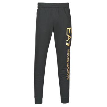 material Men Tracksuit bottoms Emporio Armani EA7 TRAIN LOGO SERIES M PANTS Black