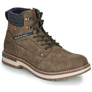 Shoes Men Mid boots Dockers by Gerli 47AF001 Kaki