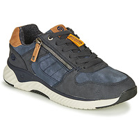 Shoes Men Low top trainers Dockers by Gerli 47MT006 Blue