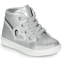 Shoes Girl High top trainers Chicco FLAMINIA Grey