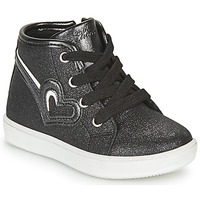 Shoes Girl High top trainers Chicco FLAMINIA Black