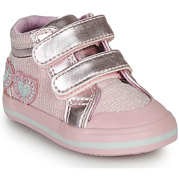 Shoes Girl High top trainers Chicco GEORGIAN Pink